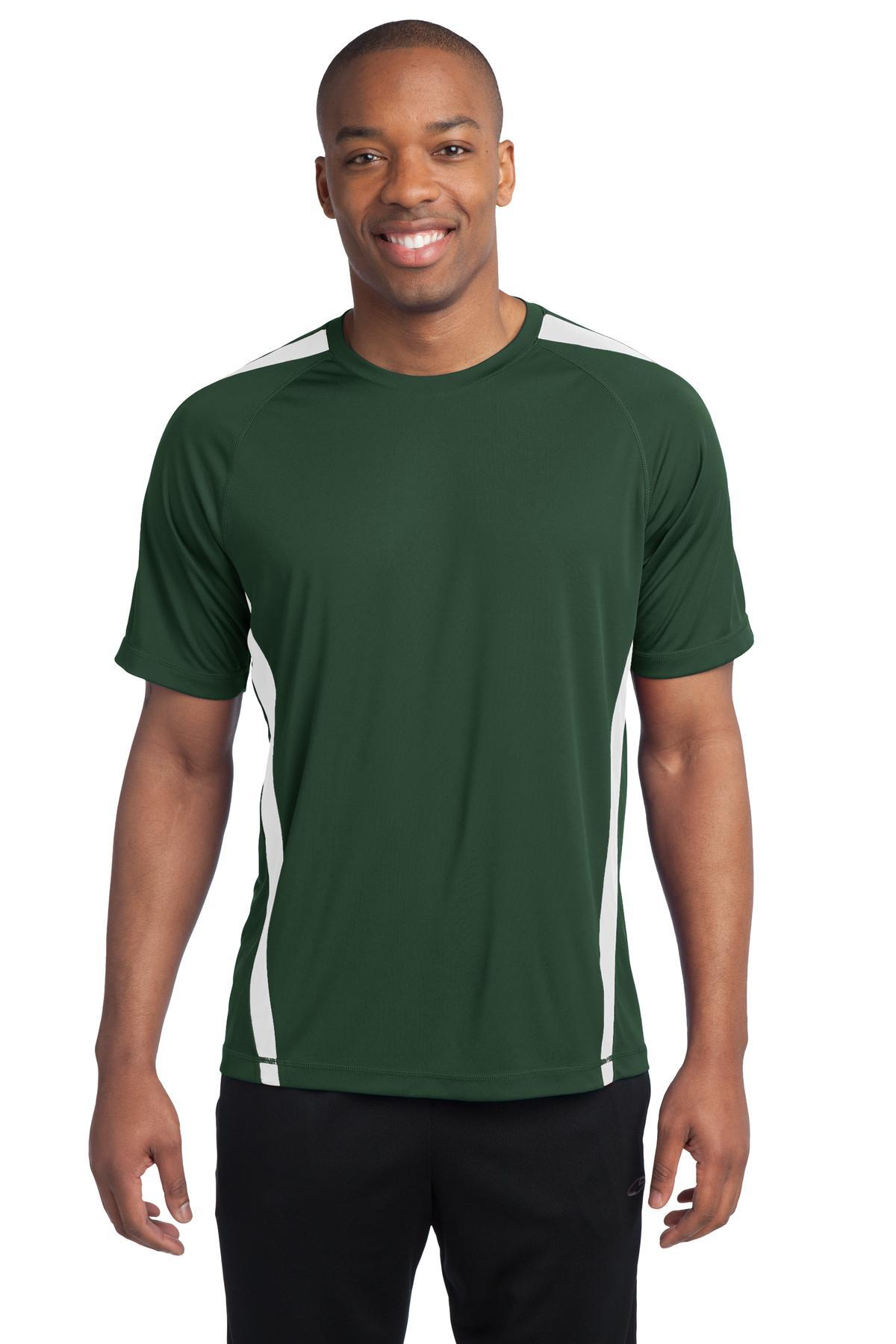 Forest Green/ White - Sport-Tek ST351