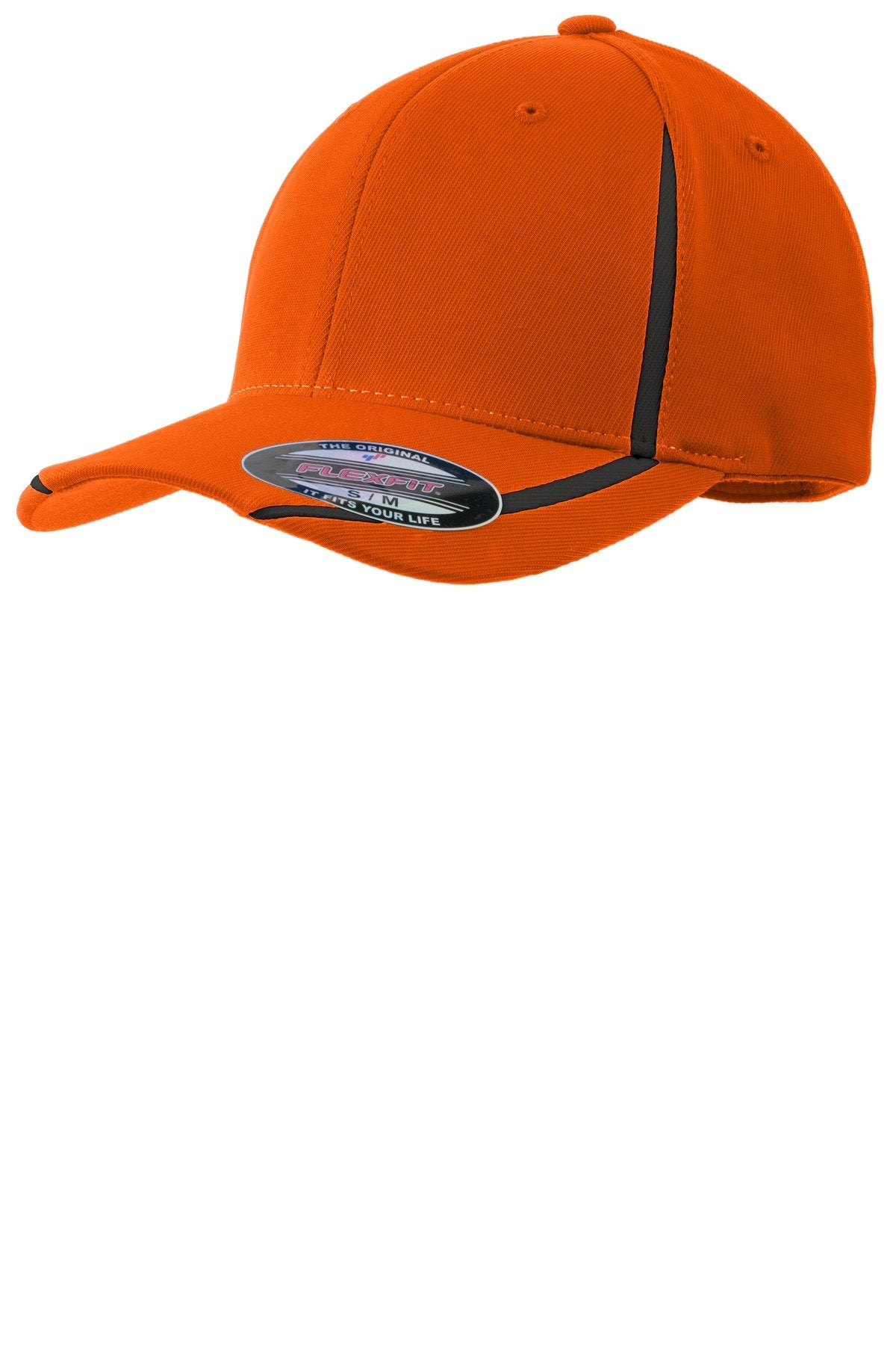 Deep Orange/Black - Sport-Tek STC16