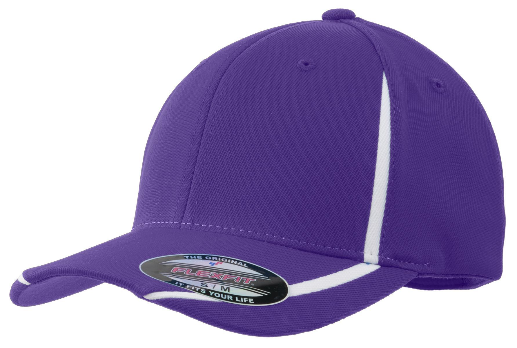 Purple/White - Sport-Tek STC16