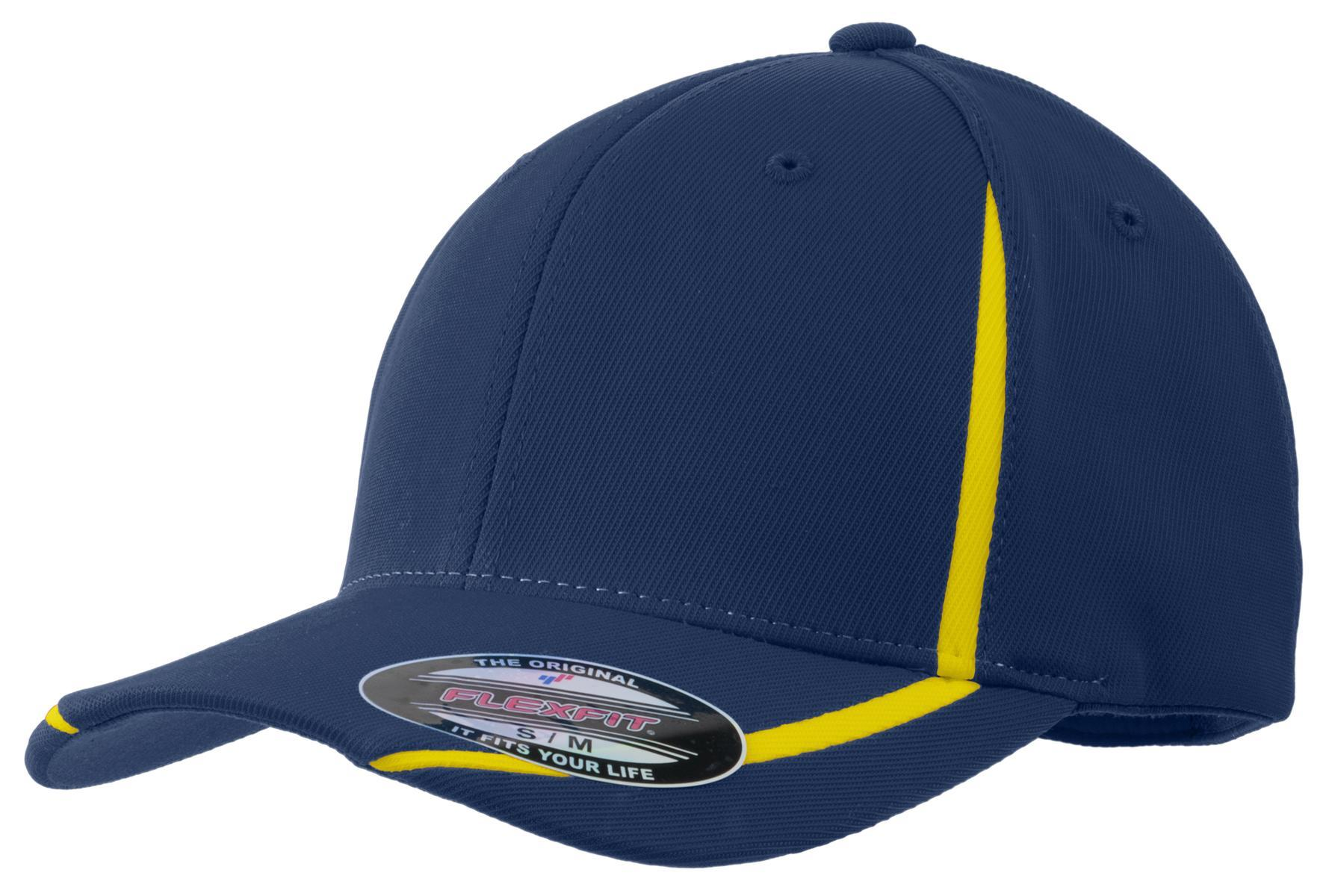 True Navy/Gold - Sport-Tek STC16