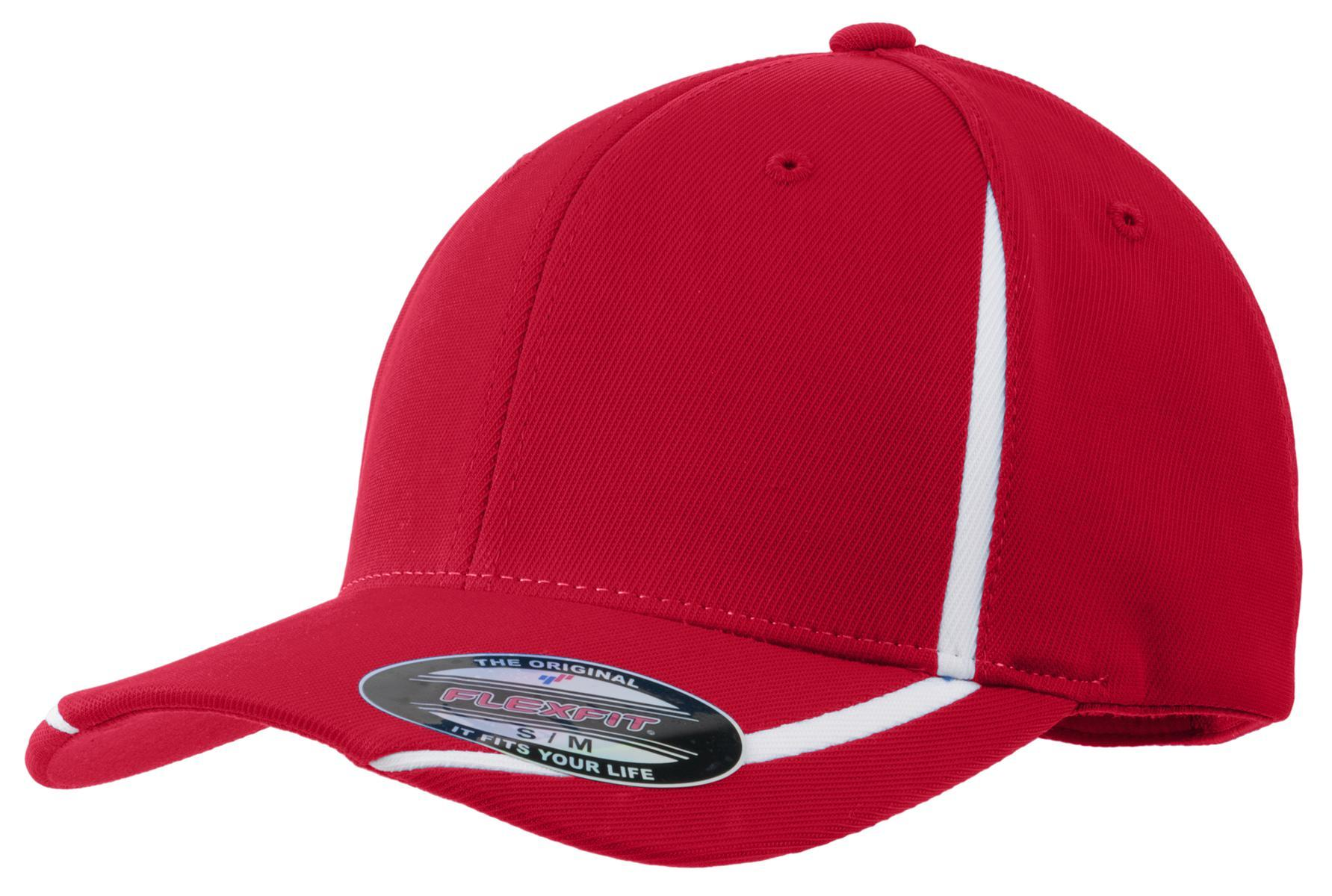 True Red/White - Sport-Tek STC16