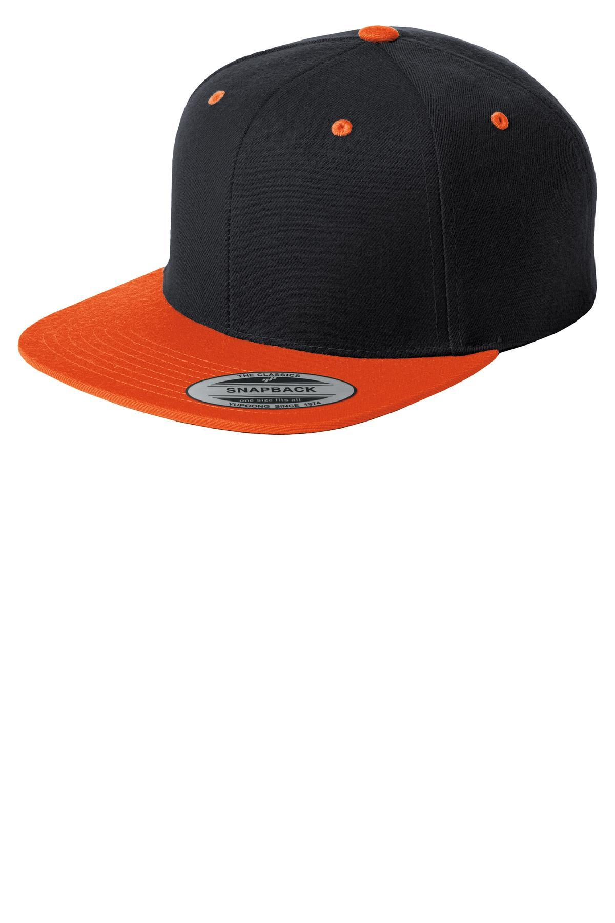 Black/ Deep Orange - Sport-Tek STC19