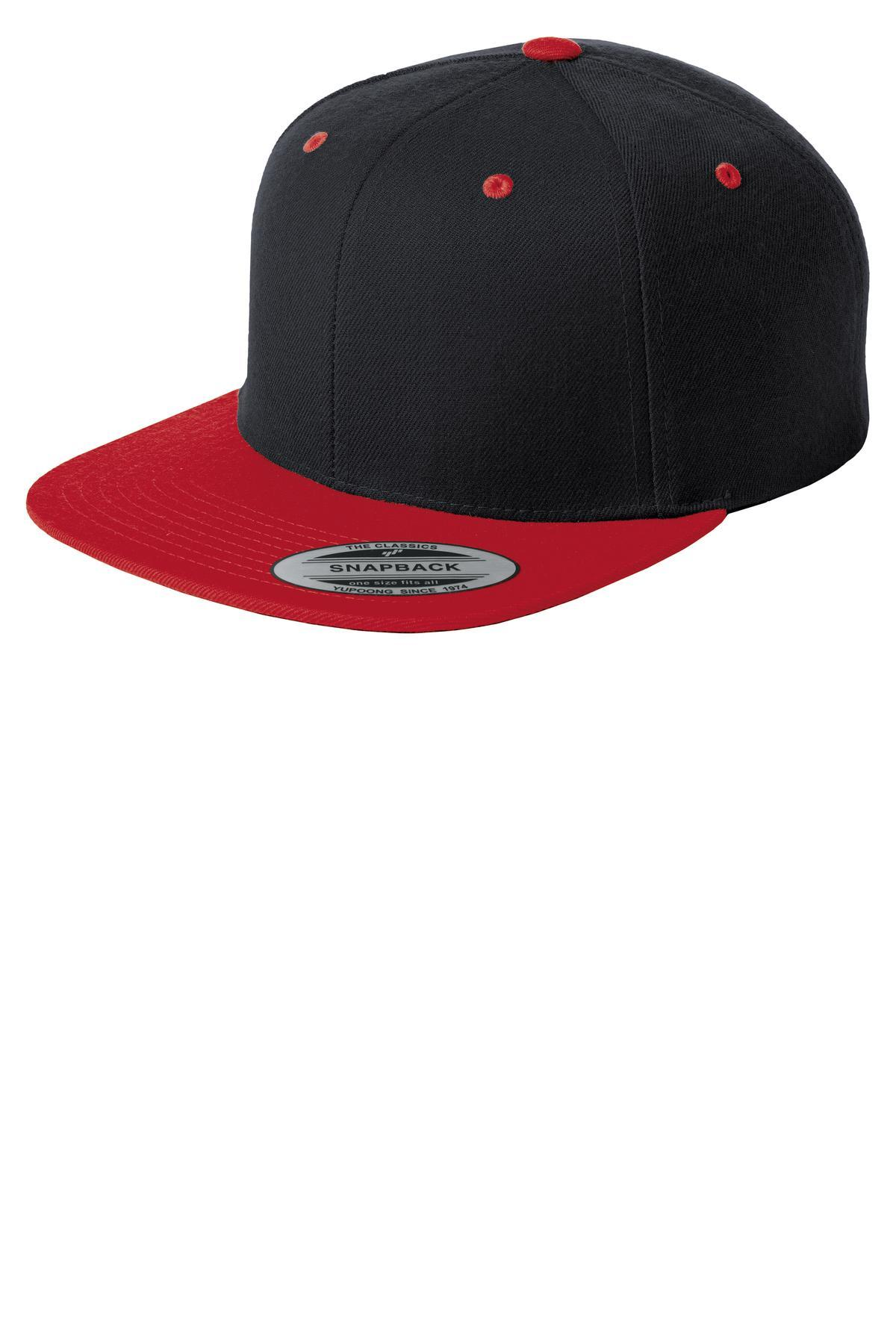 Black/ True Red - Sport-Tek STC19