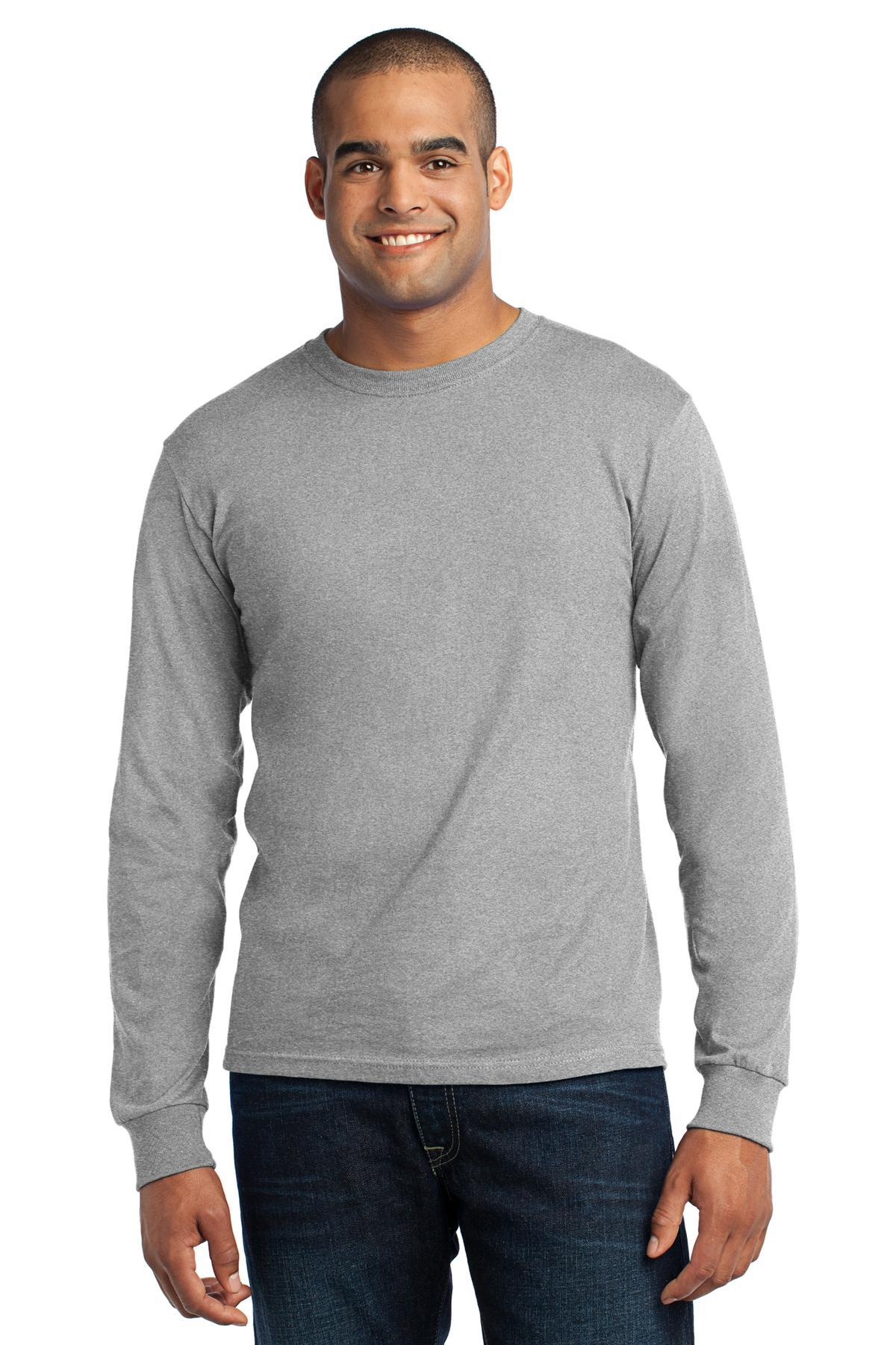 Athletic Heather - Port & Company USA100LS