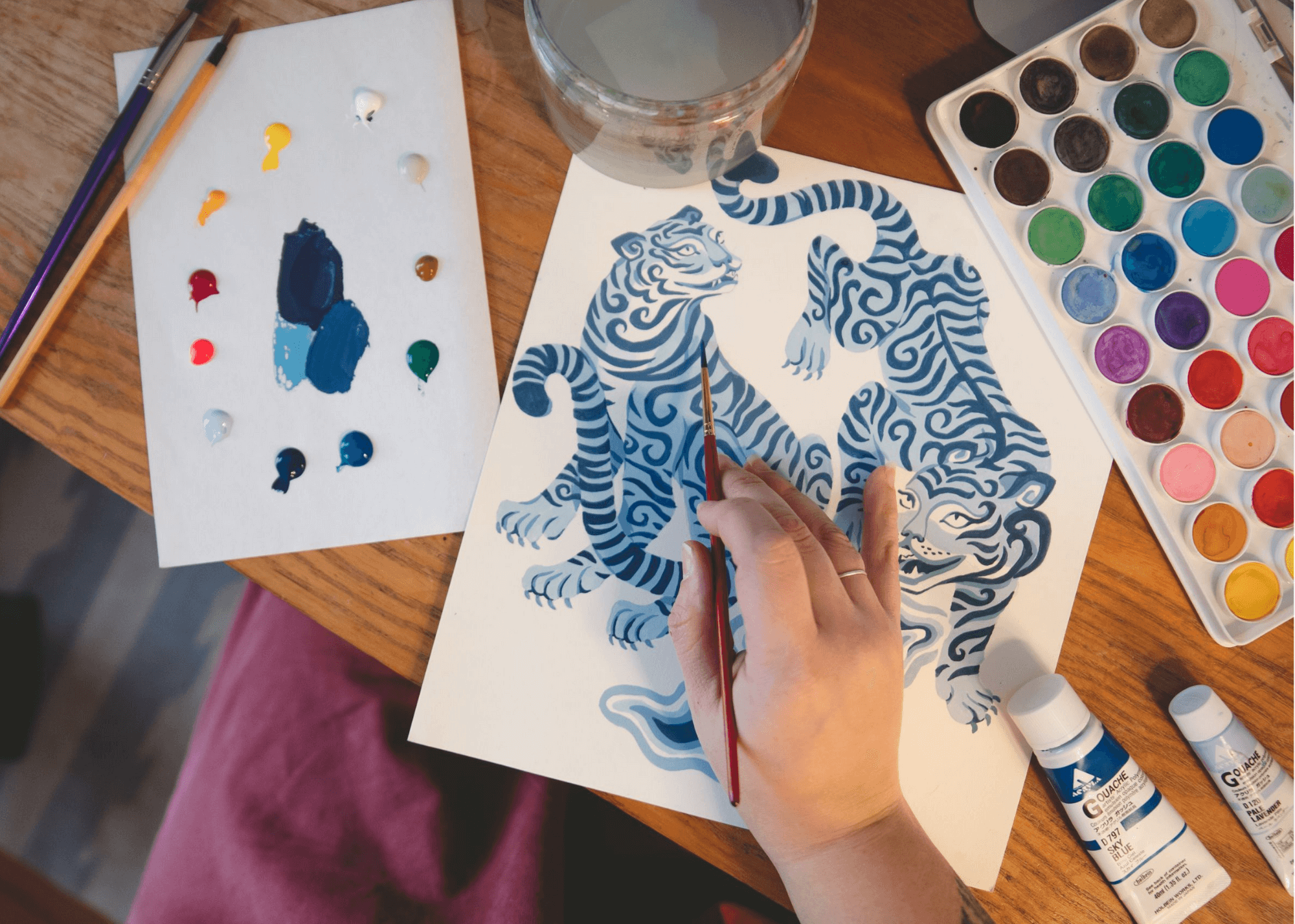 Behind the Print: Tiger Queen Pajamas Design Inspiration