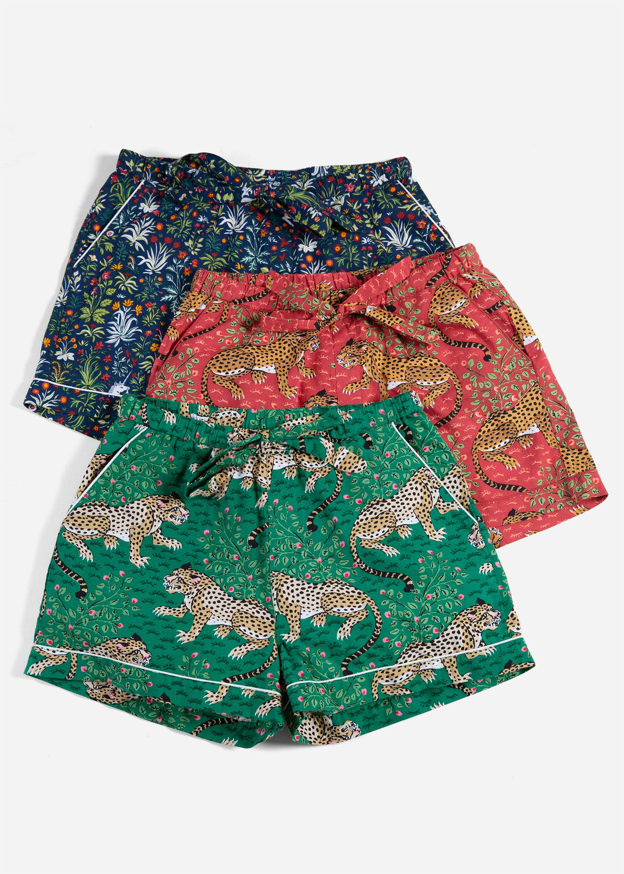 Jewel Tones - 3-Pack Pajama Shorts - Unicorn/Bagheera