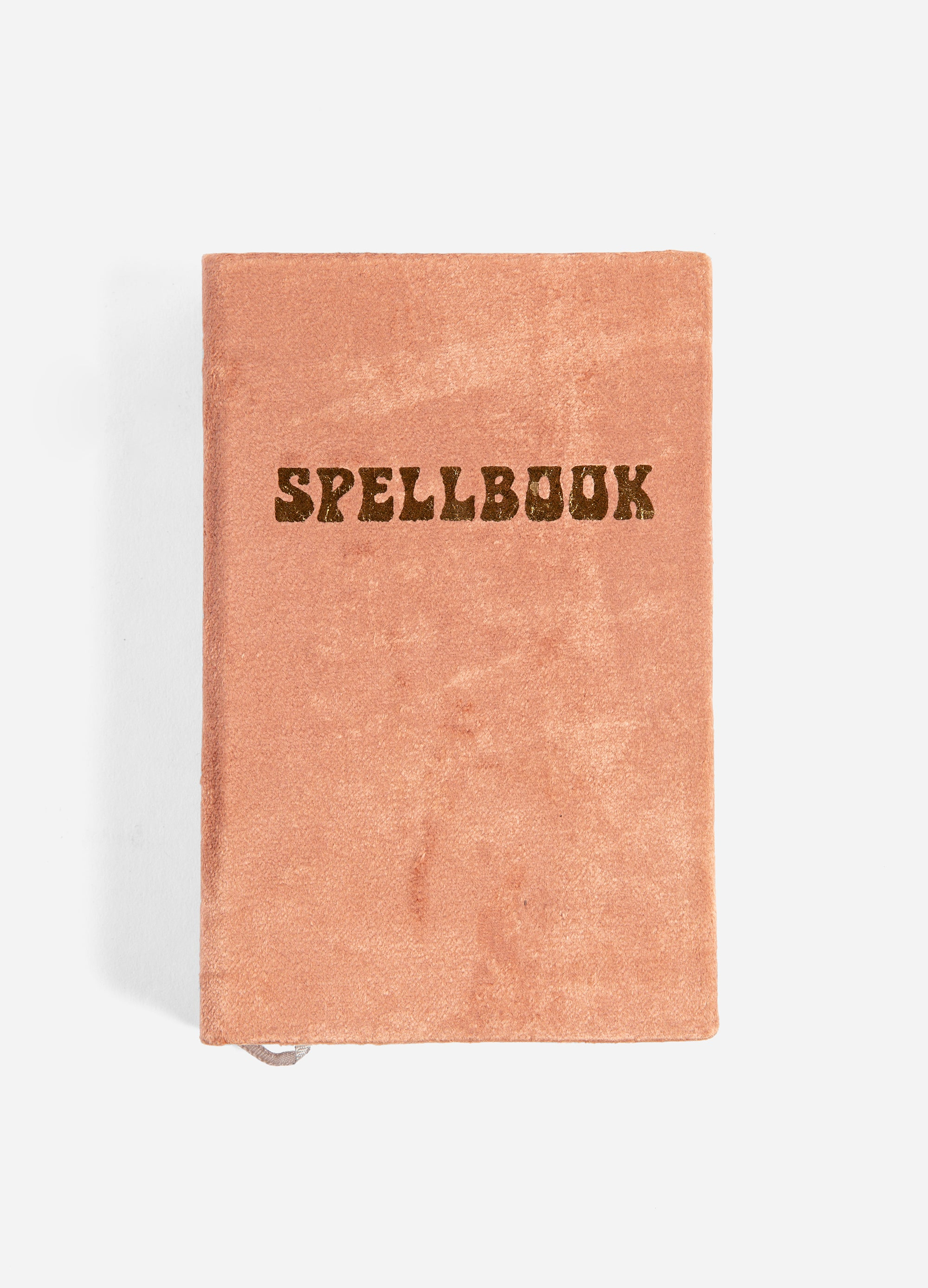Spellbook - Small Velvet Journal - Rust