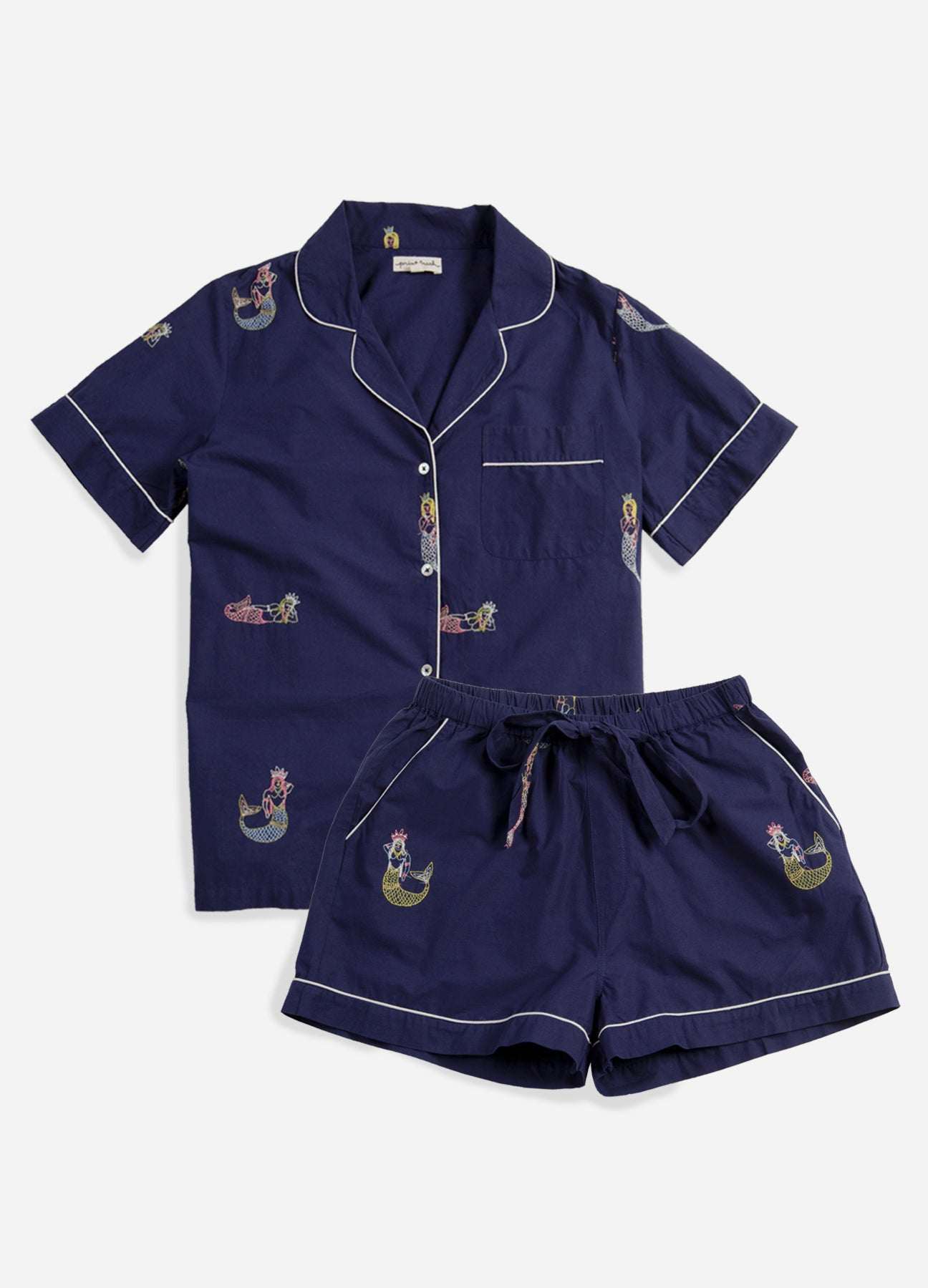 Daughters of Triton - Short Sleep Set - Indigo