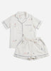 Daughters of Triton Short Sleep Set - Cloud