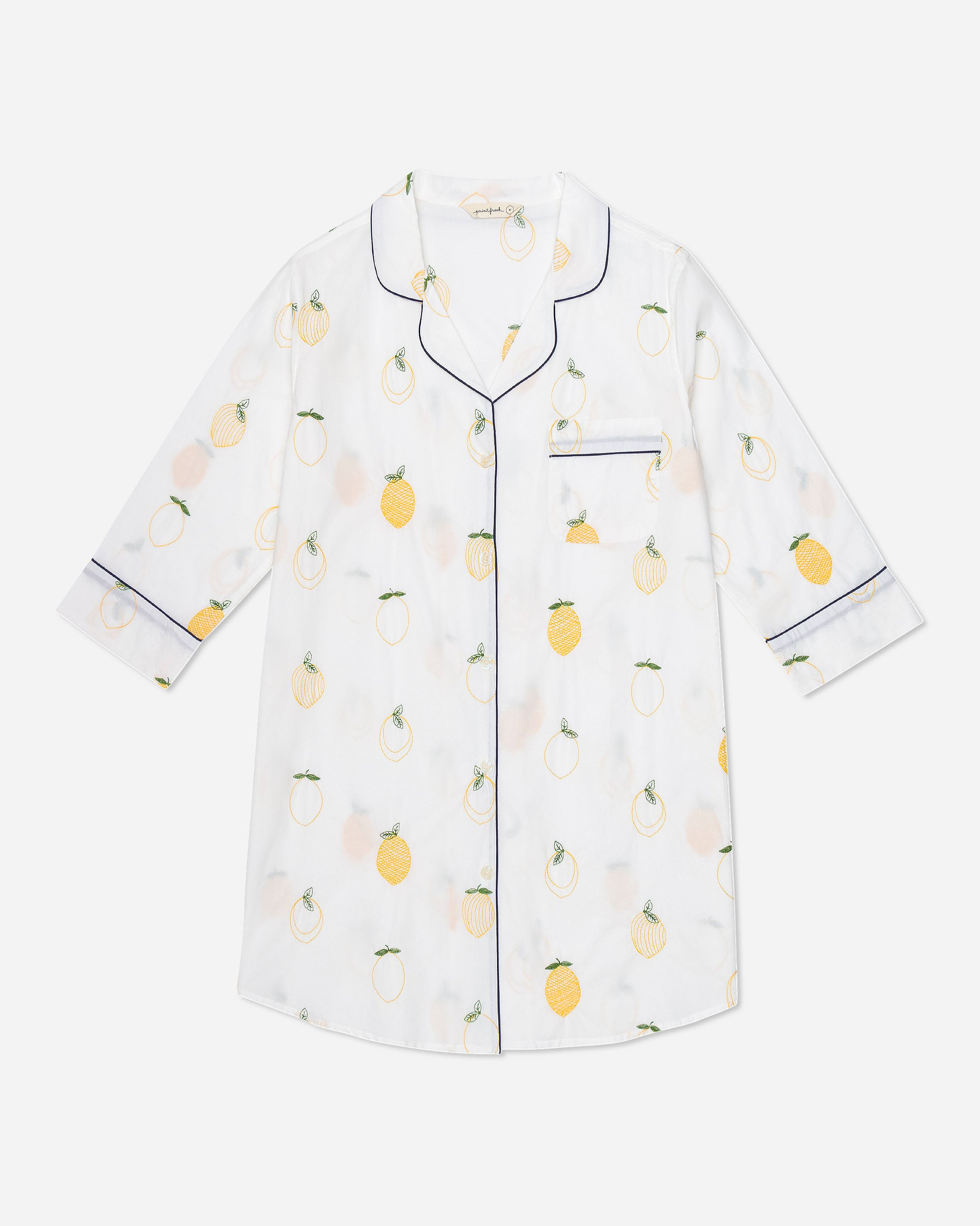 Lemon Drop - Sleep Shirt - Cloud