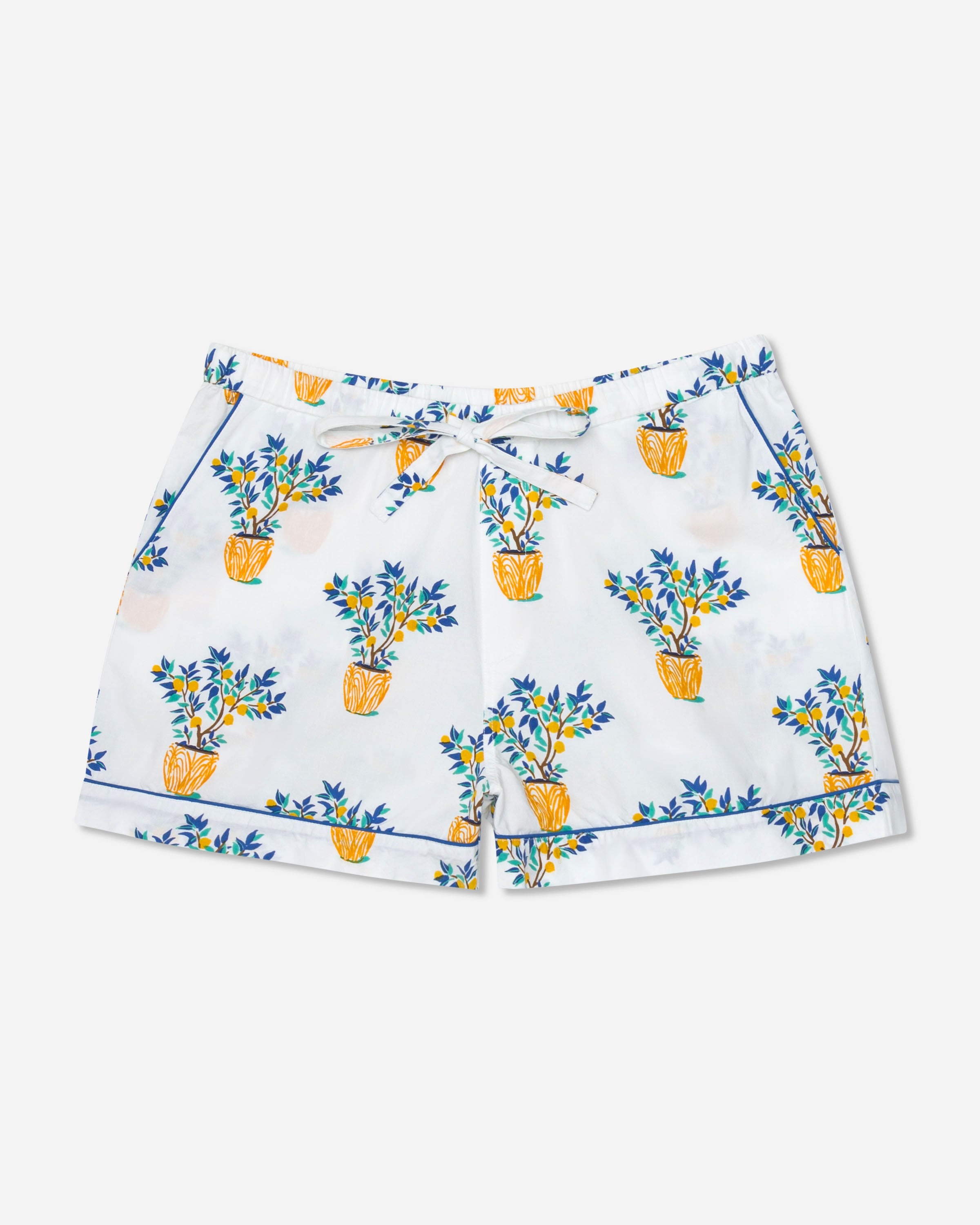 Lemon Tree - Pajama Shorts - Cloud