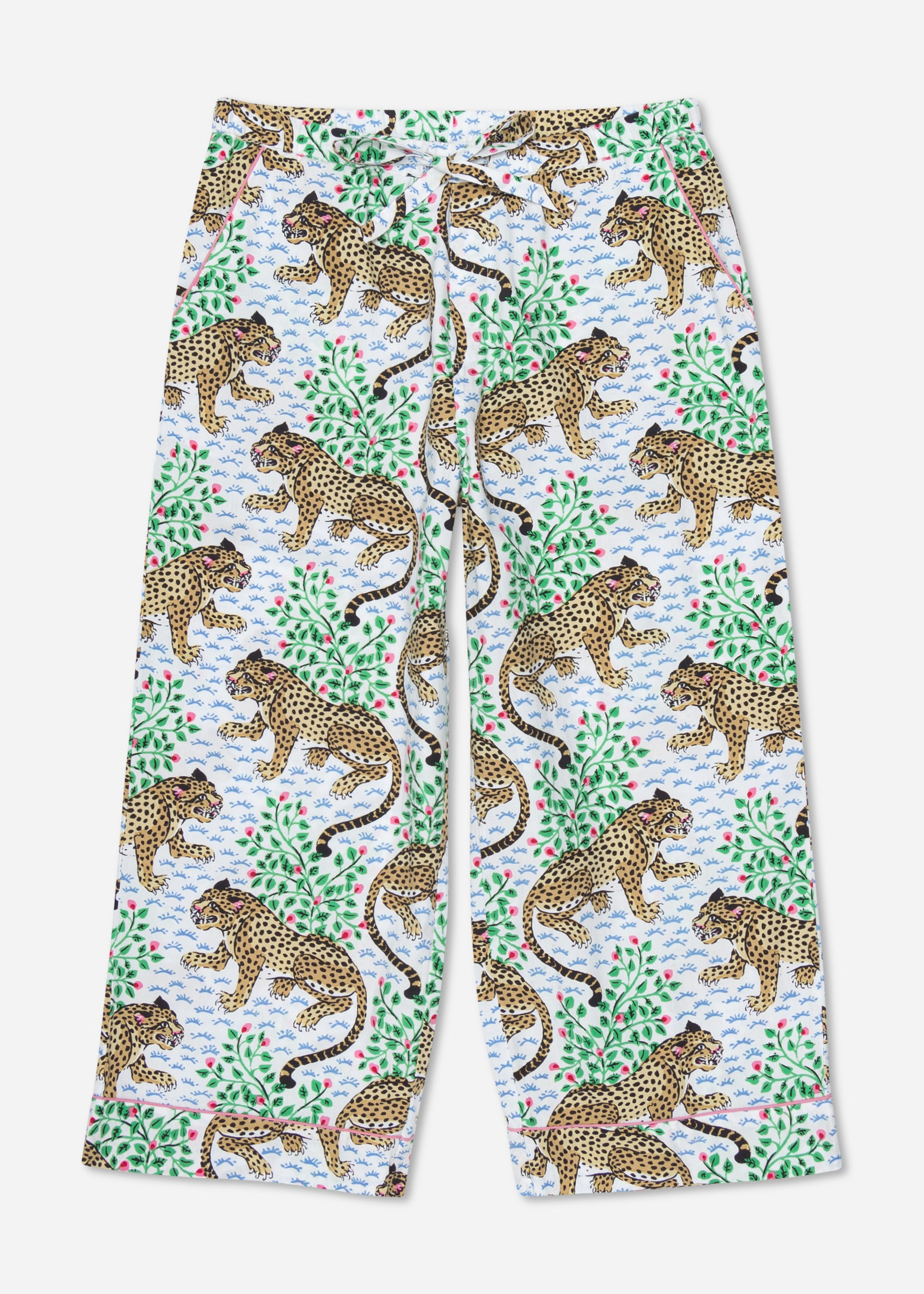 Bagheera - Cropped Pajama Pants - Cloud
