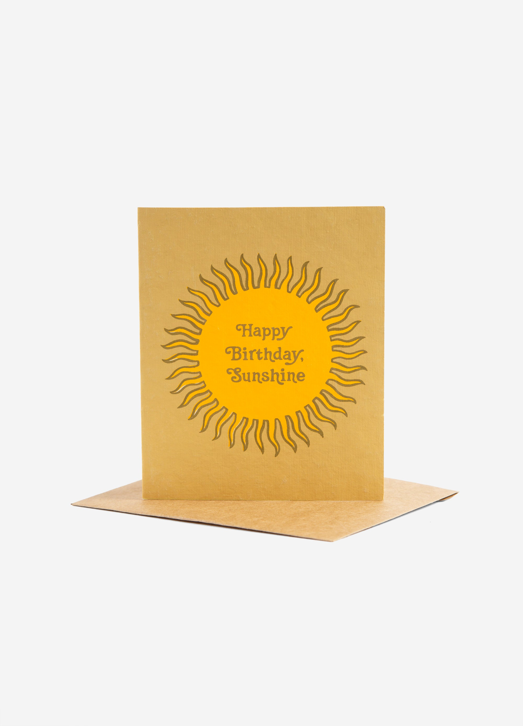 Birthday - Greeting Card - Sunshine
