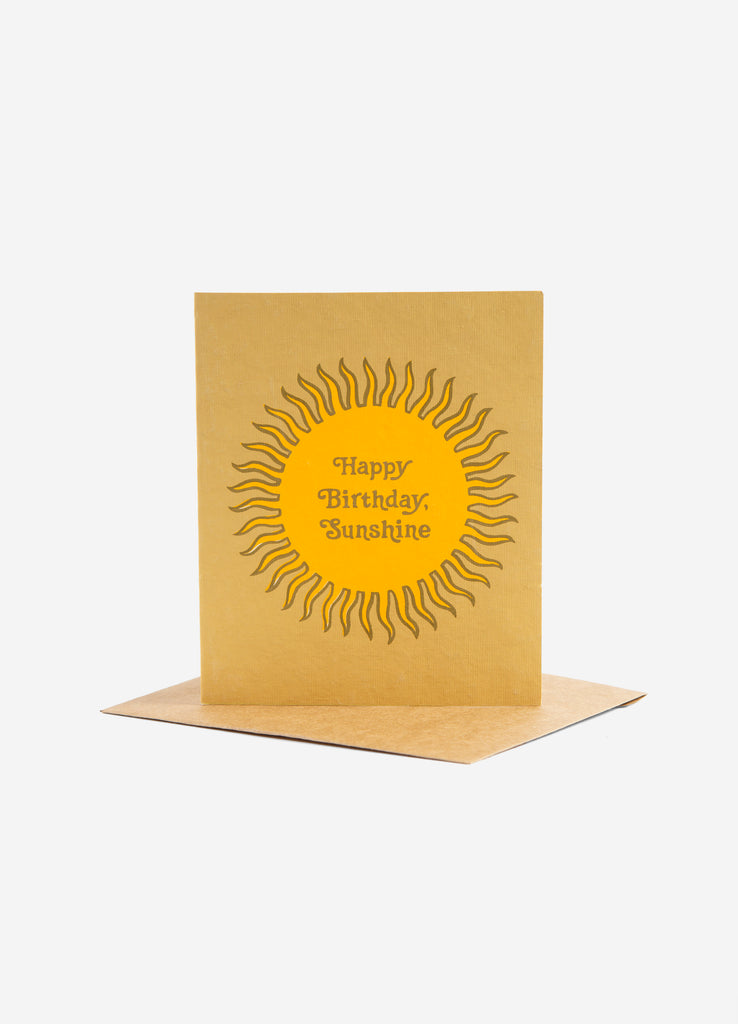 Birthday Sunshine Greeting Card