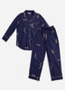 Daughters of Triton Long Sleep Set - Indigo
