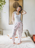Eyes of the World Pajama Pants - Blush