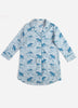 Flamenco Sleep Shirt - Pale Blue