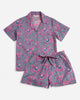 Flamenco Short Sleep Set - Fuchsia