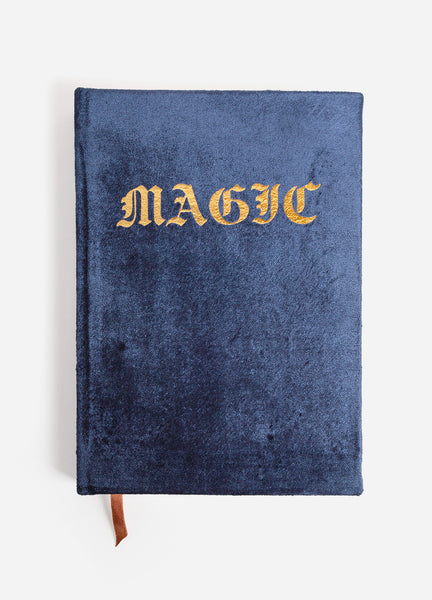 NEW! Magic Velvet Journal - Navy