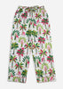 Royal Palms Pajama Pants - Pink Basil
