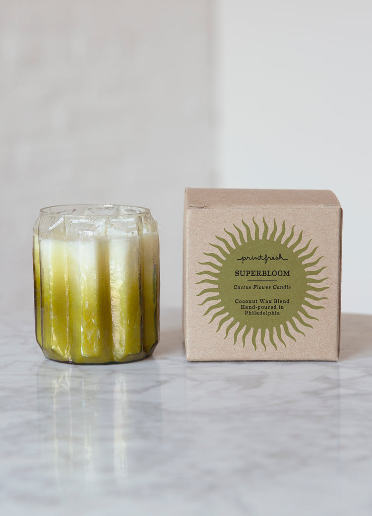 Superbloom Candle