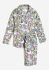 Unicorn's Garden Long Sleep Set - Grey