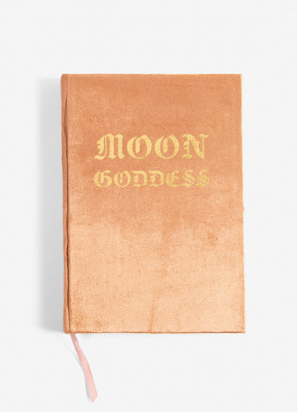Moon Goddess Slim Velvet Journal
