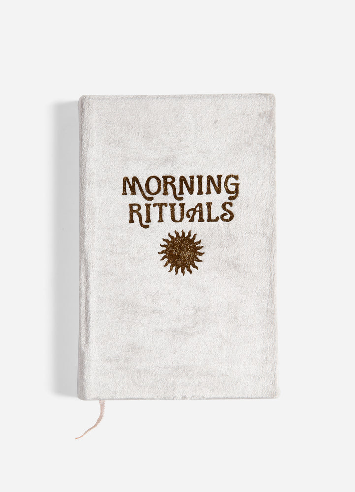 Morning Rituals Mindfulness Journal - Grey