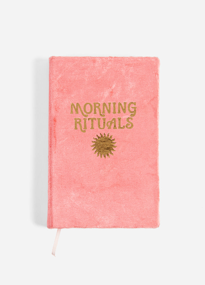 Morning Rituals Mindfulness Journal - Coral