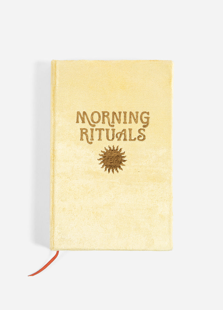 Morning Rituals Mindfulness Journal - Gold