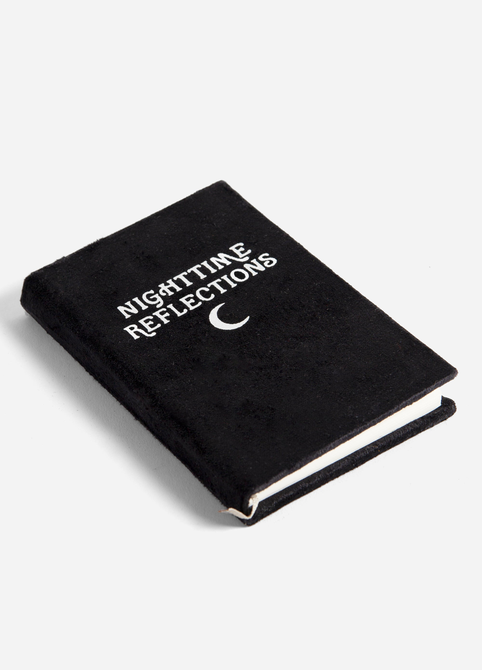 Nighttime Reflections - Velvet Mindfulness Journal - Black