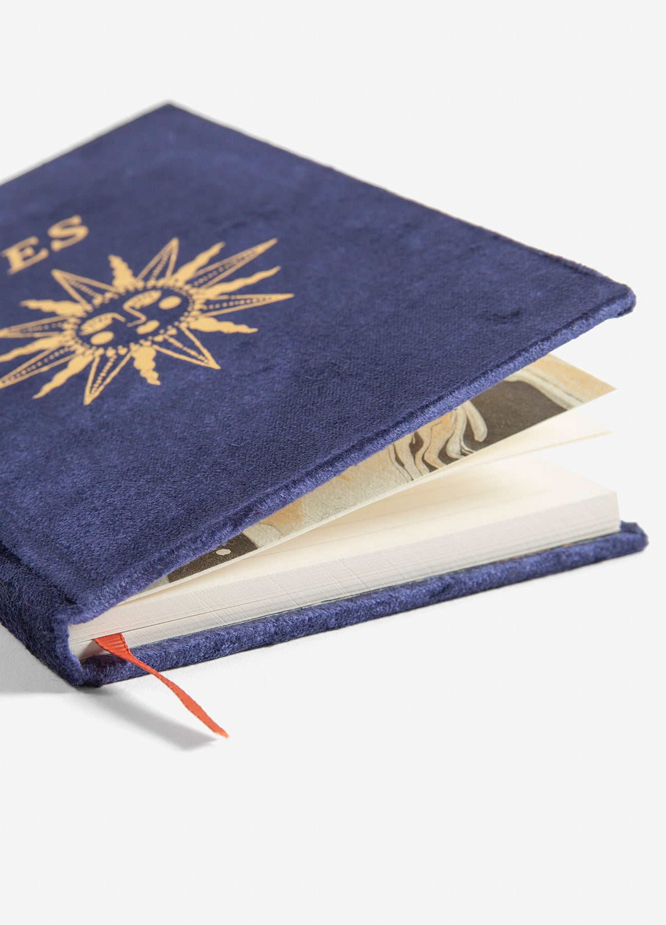 Séance - Slim Velvet Journal - Navy