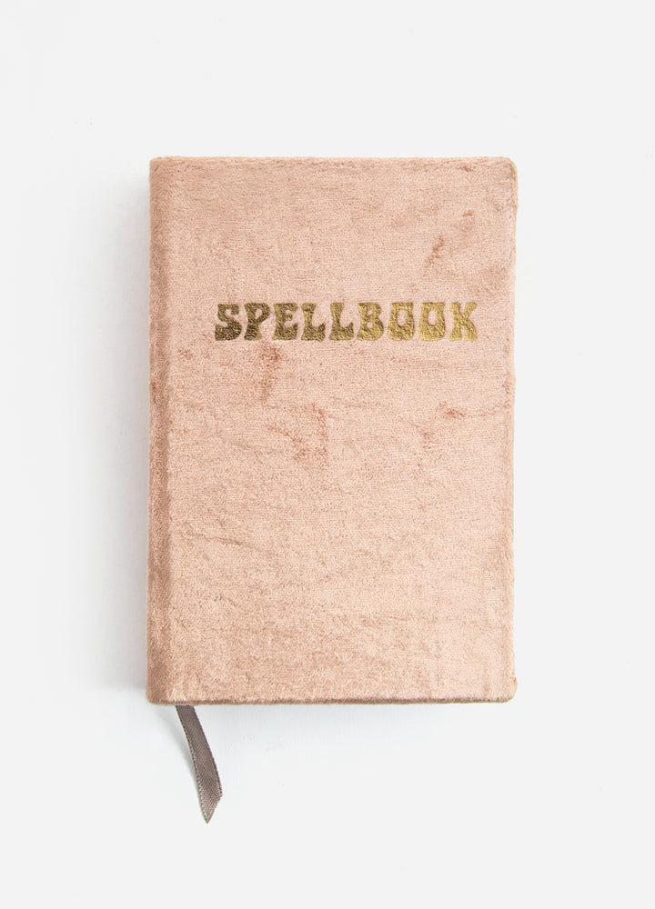 Spellbook Small Velvet Journal - Copper