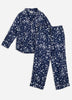 Celestial Skies Long Sleep Set - Navy