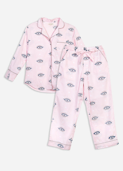 Eyes of the World Long Sleep Set - Blush