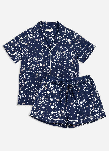 Celestial Skies Short Sleep Set