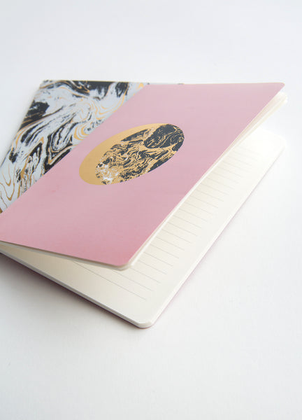 Marbled Moon Duo <br />2 Paper Journals