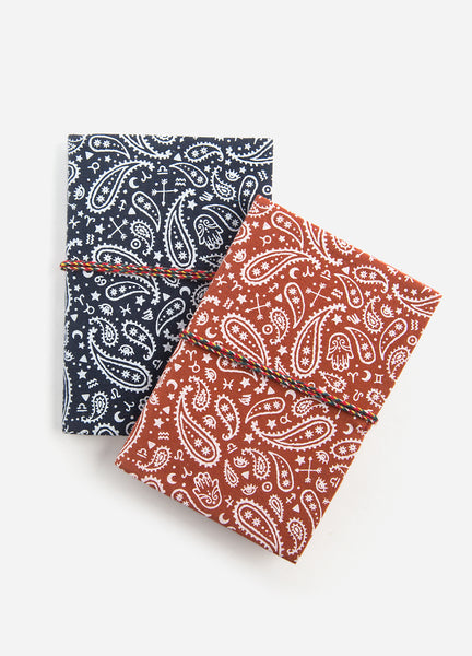 Palmistry Bandana Duo <br />2 Fabric Journals