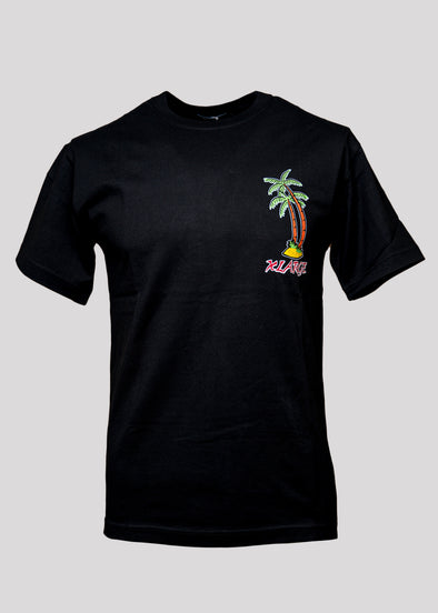 X-LARGE VACATION TEE | BLACK