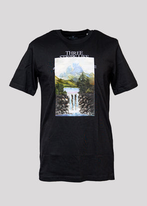 ADIDAS MOUNTAIN TEE | BLACK
