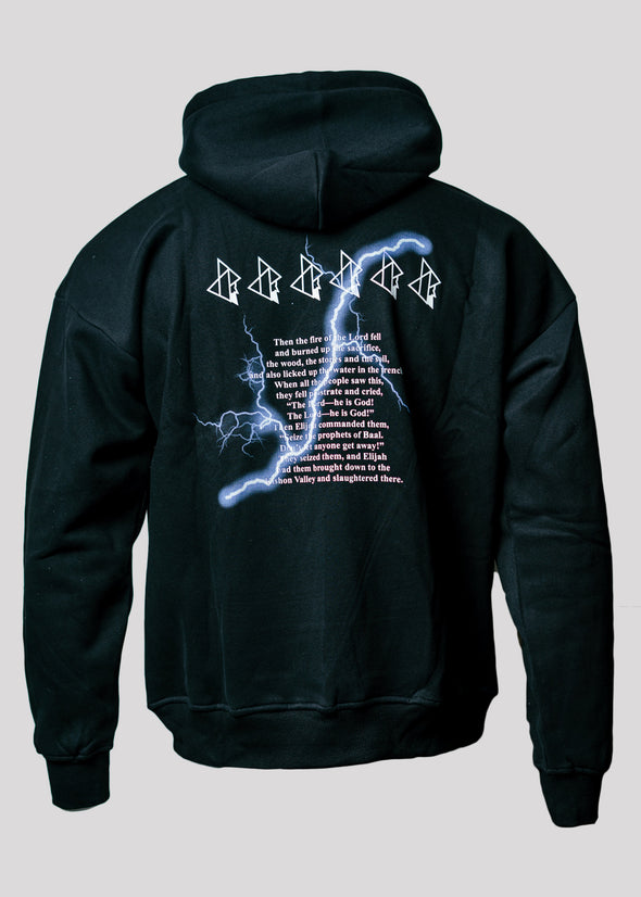 APOSTLE CLUB LIGHTNING HOODIE | BLACK
