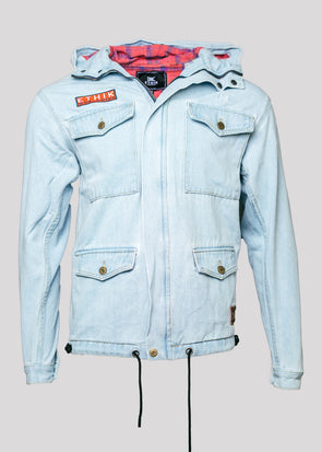 ETHIKA KOJIMA DENIM JACKET | LIGHT WASH