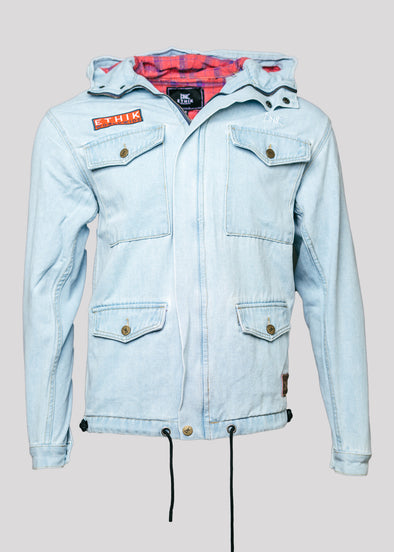 ETHIK KOJIMA DENIM JACKET | LIGHT WASH