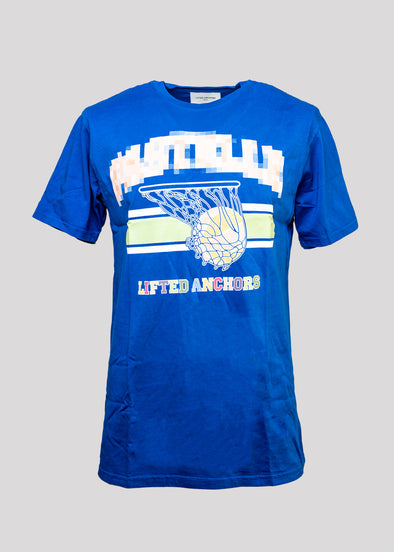 LIFTED ANCHORS PASTELLE TEE | BLUE
