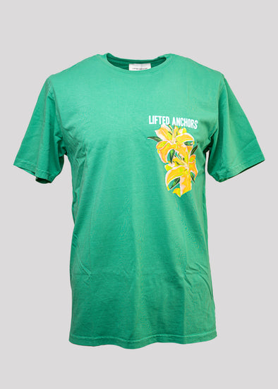 LIFTED ANCHORS DELINQUENTS TEE | GREEN