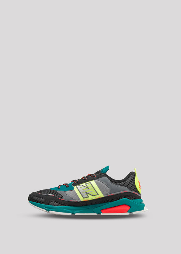 NEW BALANCE X RACER | TEAL-BLACK
