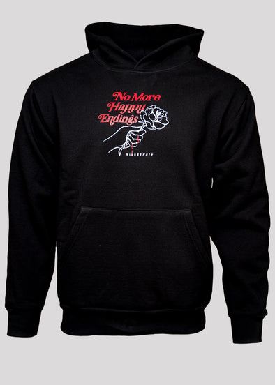 RIP N REPAIR HAPPY ENDINGS HOODIE | BLACK