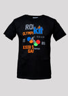 ROKIT PODIUM TEE | BLACK