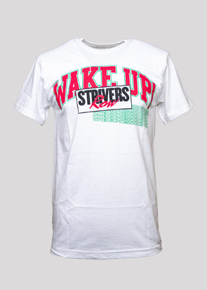 STRIVERS ROW WAKE UP SS TEE | WHITE