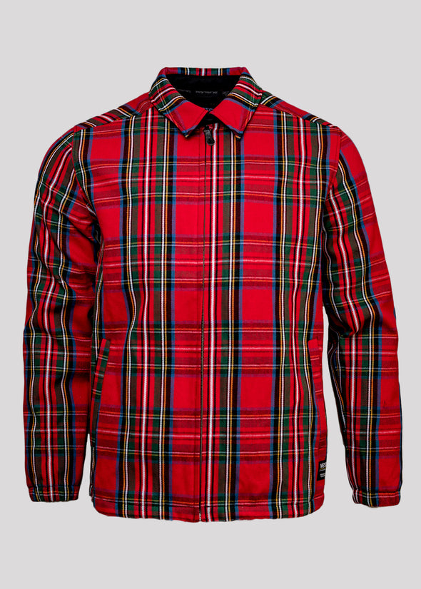 WESC COACH TARTAN ZIP  | PLAID
